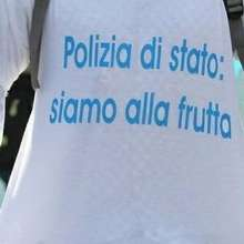 polizia sciopero